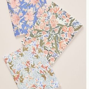 Anthropologie set. Notebooks and pens. NWT